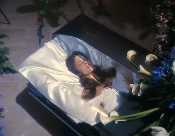 gli anni novanta perché la sposa muore in november rain
